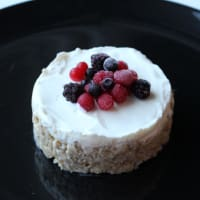Porridge cheesecake