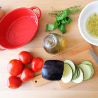Baked vegetables with aromatherapy oil allaglio step 2