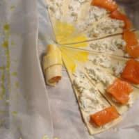 Piccoli croissant al salmone marinato step 5