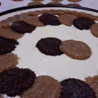 Cioccocaffè tarta de crema ligera con el yogur griego y queso cottage paso 8