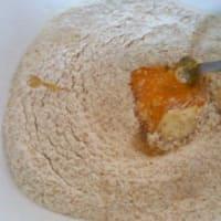 Pastel de crema se desmoronan y nutella paso 2