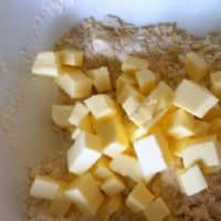 Pastel de crema se desmoronan y nutella paso 3