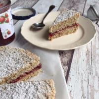 Cake buckwheat gluten-free and lactose-free