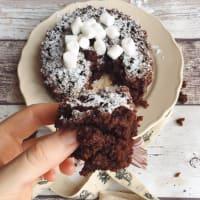 tarta de chocolate húmeda y sin huevos, la leche y la mantequilla