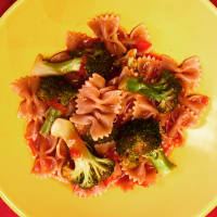 Pasta con brócoli picante paso 4