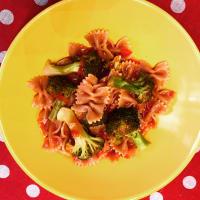 Pasta piccante con i broccoli