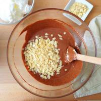 Torta al cioccolato fondente, mandorle e uvetta step 3