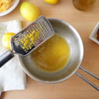 Pappardelle con salsa de limón y tomates secados al sol paso 1