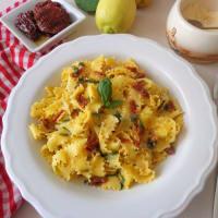 Pappardelle con salsa al limone e pomodori secchi step 3