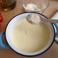 Cocotte con queso ricotta con tomate paso 2