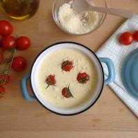 Cocotte con queso ricotta con tomate paso 3