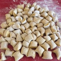 Whole calabaza Gnocchi paso 4