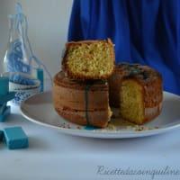 Pastel de Bundt con harina de arroz, naranja y jengibre