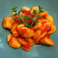 Gnocchi tomate vegan