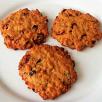 Galletas con Davena flakes con frutos secos