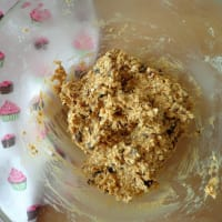 Galletas con Davena flakes con frutos secos paso 3