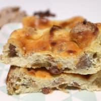 torta Ricotta al horno con pasas y cereales