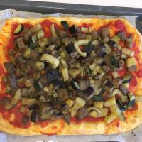 Pizza di kamut alle verdure step 4