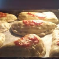 Jodhpurs al horno BIMBY siciliano Rotisserie Método paso 9