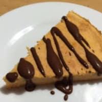 pastel de calabaza y plátano