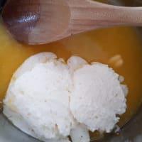 Las trufas de naranja paso 3