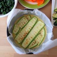 crepes pastel con verduras a la parrilla paso 4