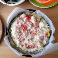 crepes pastel con verduras a la parrilla paso 6