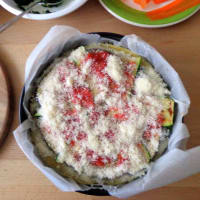 Torta di crepes con verdure grigliate step 6