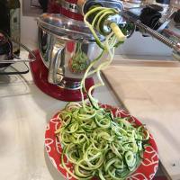 Spaghetti di zucchine al pomodoro step 2