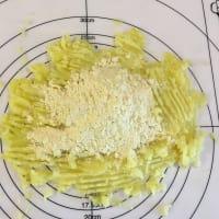 El gluten libre de ñoquis con espárragos crujientes paso 2