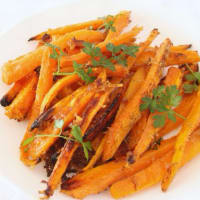 Chips Carrots baked