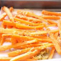 Chips de zanahorias al horno paso 3