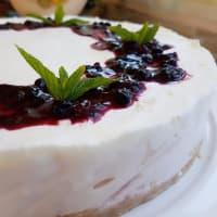 yogur torta fría