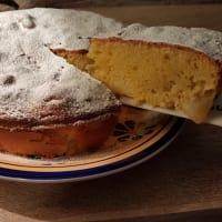 Torta morbida arancia e mela bimby