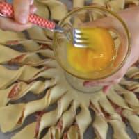 Torta salata girandola step 7