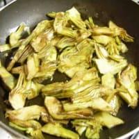 Straccetti di pollo con carciofi step 2