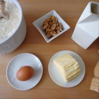 Quiche con guisantes, espinacas, nueces y queso ricotta paso 1