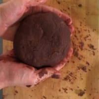 galletas de mantequilla de cacao sin mantequilla