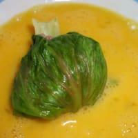 Involtini di lattuga con polpette ripiene di mozzarella step 5