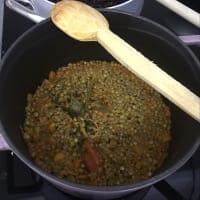 Sformatino di lenticchie step 1