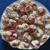 Pizzette fluffy yoghurt