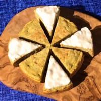 Pancake cocco limone banana glassato, senza zucchero
