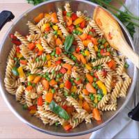 Pasta con ragout de verduras paso 4