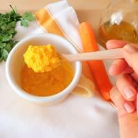 Pasta con pesto zanahorias paso 2