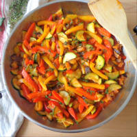 Ratatouille di verdure e pollo step 4