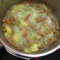 Pasta y patatas paso 3