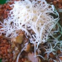 Espelta y ensalada de alcachofa paso 3