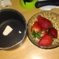 Risotto con fresas y cebollino paso 1