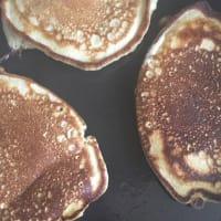 Matcha pancake step 5