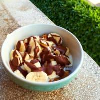 Dolcino plátano y yogur